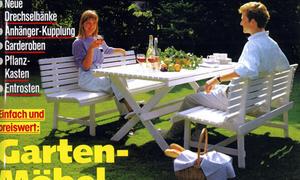 Gartenmöbel bauen