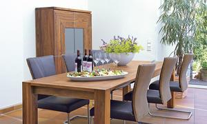 Möbel Selber Bauen Esstisch Aus Nussbaum Ausziehbar