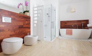 Gestaltungsmöglichkeiten einer Dusche ohne Fliesen