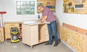 Werkstatteinrichtung selber bauen  Werkstatteinrichtung | selbst.de