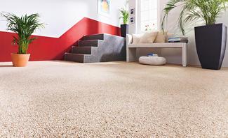 Fußboden aus Marmorkies