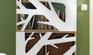 Bücherregal verzieren