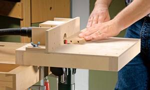 Werkstatteinrichtung Frästisch Bauen