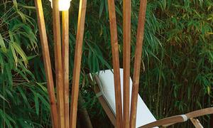 Filigrane Gartenleuchte bauen