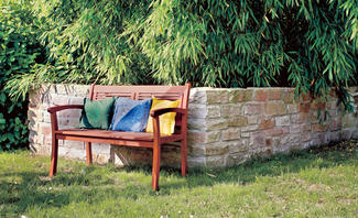 Gartenmauer errichten