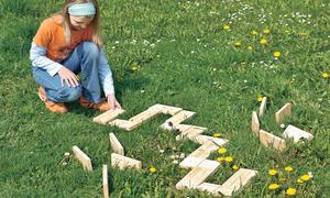 Holz-Dominosteine: Domino-Spiel bauen
