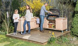 Outdoorküche Holz Test : Der plan meiner outdoorküche küche im garten grill bbq