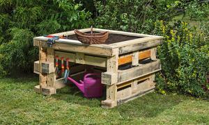 Gartenmöbel Aus Paletten palettenmöbel bauen selbst de