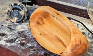 Frässcheibe: Holz frei formen