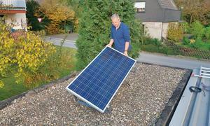 Solarmodul anschließen