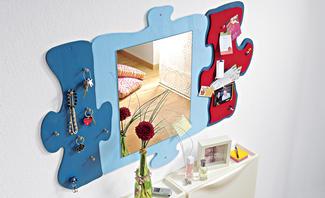 Wandspiegel bauen