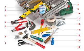 Werkzeugkasten Inhalt