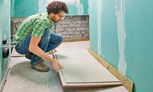 Fußboden Mit Beton Ausgleichen ~ Boden ausgleichen selbst