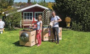 Holz Für Außenküche : Außenküche selbst