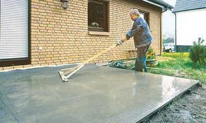 Great Bodenplatte Betonieren