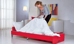 bett bauen. Black Bedroom Furniture Sets. Home Design Ideas