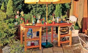Outdoor Küche Edelstahl Selber Bauen : Outdoorküche selber bauen selbst