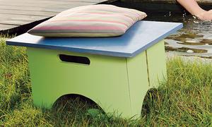 hocker selber bauen. Black Bedroom Furniture Sets. Home Design Ideas