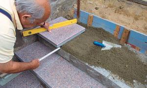 Treppe selber bauen - Gartentreppe bauen blockstufen ...