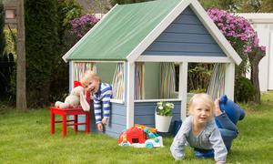 Spielhaus für den Garten selber bauen: DIY Anleitung DIY
