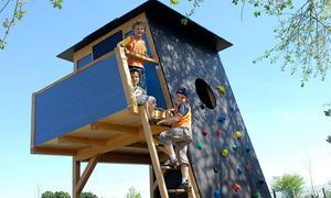 Klettergerüst Holz Selber Bauen : Klettergerüst selber bauen selbst