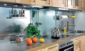 Küchenspiegel Aus Glas U0026 Metall