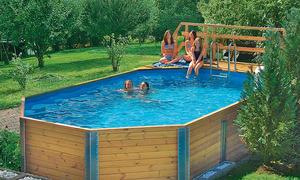 Schon Swimmingpool Bausatz. Schwimmbad Im Garten: ...