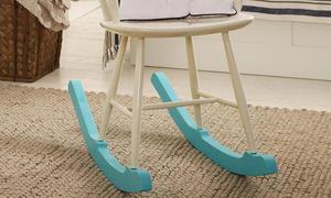 Stuhl In Schaukelstuhl Verwandeln