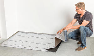 Fußboden Schalldämmung ~ Trittschalldämmung selbst