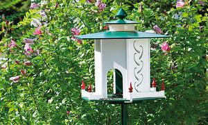 Futterhaus selber bauen - Vogelfutterspender selber bauen ...