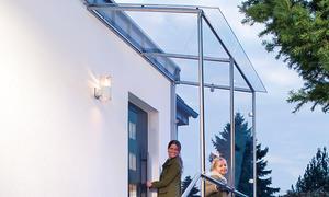Fabulous Vordach aus Glas | selbst.de OT69