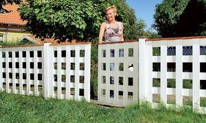 Gartenzaun selber bauen - Bauplan gartentor ...