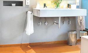 Holzfußboden Bad ~ Eichendielen selbst.de