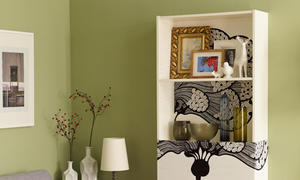 schrank mit vitrine selber bauen. Black Bedroom Furniture Sets. Home Design Ideas