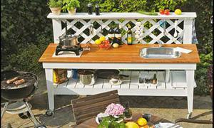 Outdoorküche Bausatz Holz : Outdoorküche selbst.de