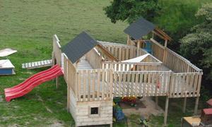 Häufig Spielhaus selber bauen | selbst.de LV54
