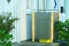 Bekannt Metall-Mülltonnenbox | selbst.de CE29