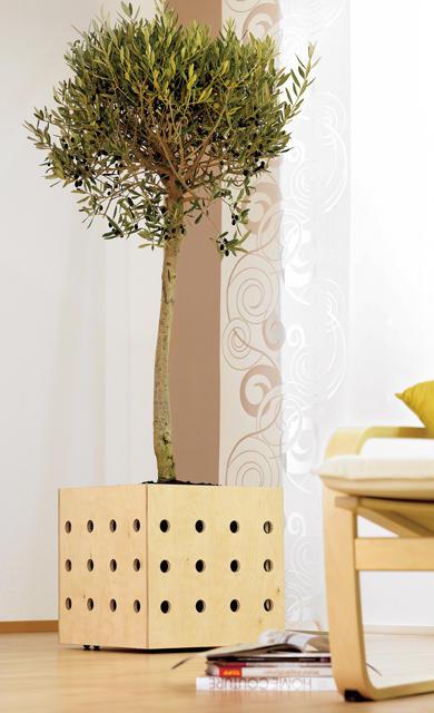 blumentopf mit rollen. Black Bedroom Furniture Sets. Home Design Ideas