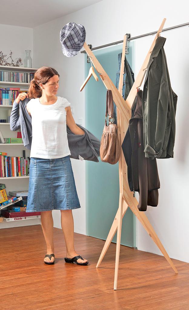 Kleiderständer Selber Bauen garderobenständer selbst de