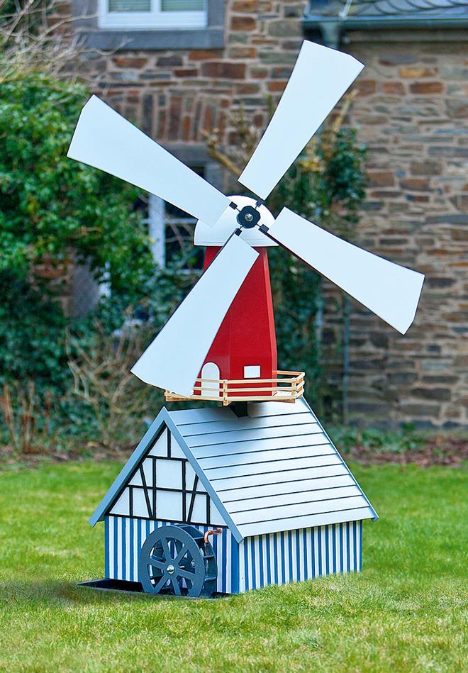 Kombi-Wind-Wassermühle