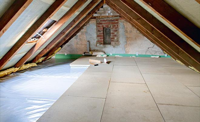 Dachboden Fußboden Dämmen Anleitung ~ Dachbodendämmung selbst.de