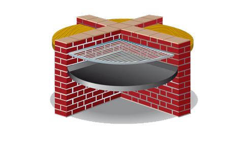 grill mauern. Black Bedroom Furniture Sets. Home Design Ideas