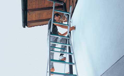 Fassade Streichen Heißt Meist Auch Gerüst Mieten