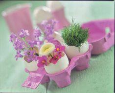 Tischdeko frühling selber basteln  Frühlings-Tischdeko basteln | selbst.de
