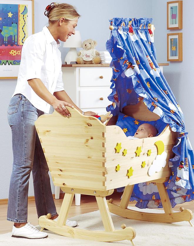 Kinderwiege bauen