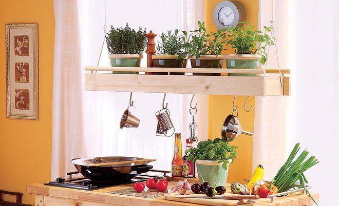 Kräuterregal Küche | selbst.de
