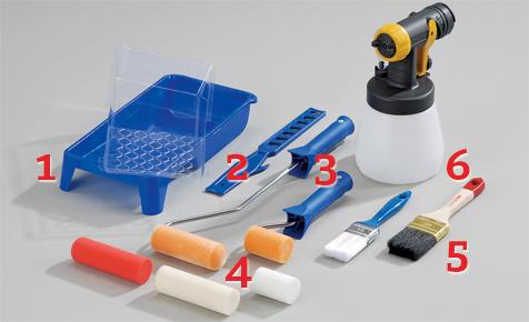 Richtik lackieren: Lackier-Werkzeuge