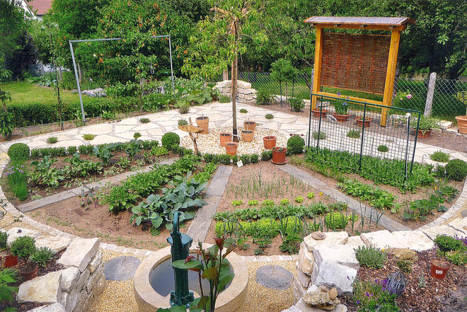 Bauerngarten anlegen beispiele  Bauerngarten | selbst.de