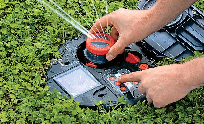 Rasen Bewässerungssystem rasenbewässerung selbst de