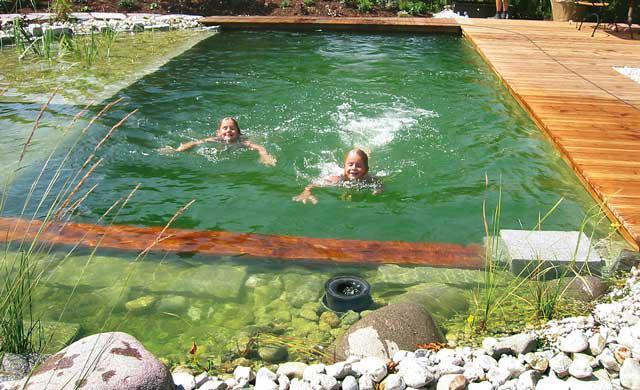 Schwimmteich Selbstde